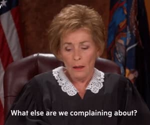 gif and judge judy image