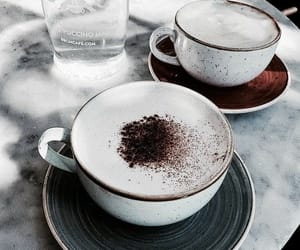 coffee, dark, and drinks image