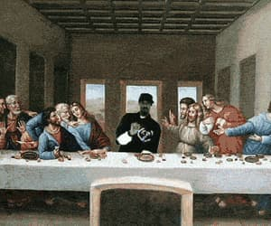 funny, jesus, and snoop dogg image