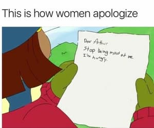 apologize, foof, and funny image