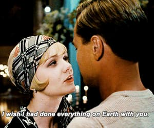 love, the great gatsby, and quotes image