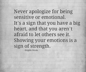 quotes, emotions, and strength image