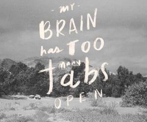 quotes, brain, and tabs image