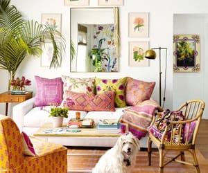 boho, home decor, and interior decorating image