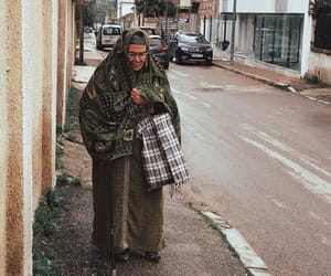 Algeria, hijab, and street image