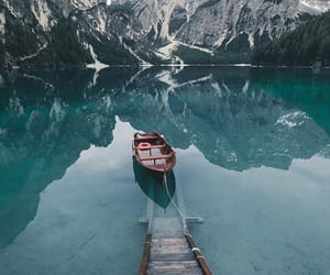freedom, lake, and landscape image