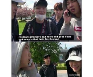 bts, funny, and namjoon image