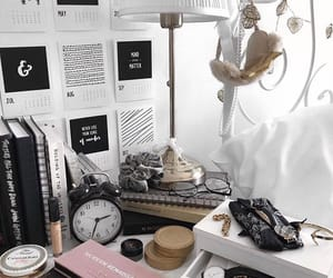 accessories, aesthetic, and bed image