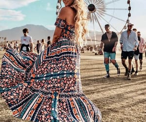 beauty, coachella, and girl image