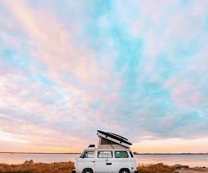 adventure, beach, and sky image