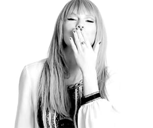black and white, era, and Taylor Swift image