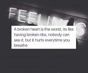 article, quote, and sadness image