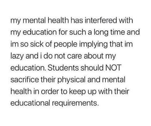 depression, education, and health image