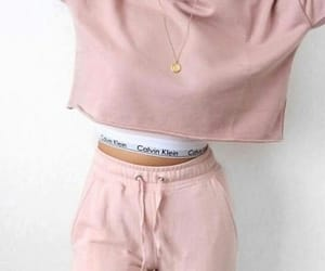 pink, fashion, and Calvin Klein image