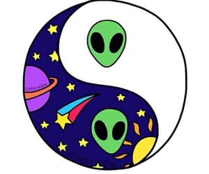 alien, space, and yang image