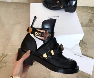 Balenciaga, boots, and black image
