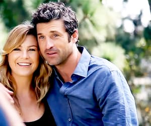 grey's anatomy, couple, and love image