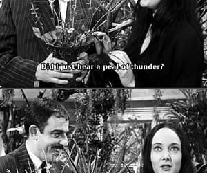 gomez morticia addams, thunder strike, and heavenly sound image