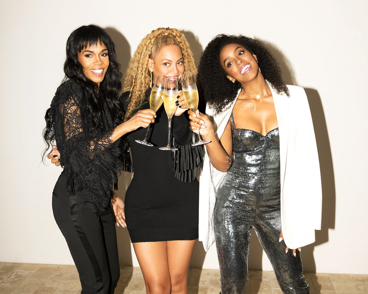 Beyonce Kelly Michelle At Fashion Designer Peter Dundas Evangelo Bousis Grand Opening Of Their Store In Los Angeles California 24th April 2018