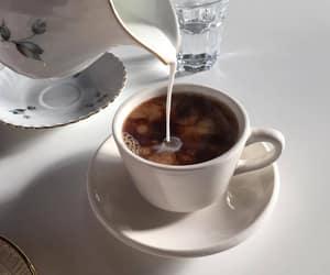 coffee, milk, and tea image