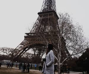 april, eiffel, and eiffeltower image