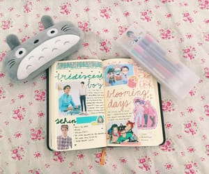exo, journal, and kpop image