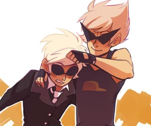 homestuck, dave strider, and dirk strider image