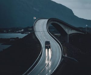 inspiration, norway, and road image