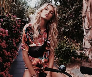 model, fashion, and romee strijd image