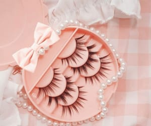 aesthetic, peach, and pearls image