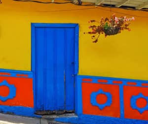 colorful, colors, and doors image