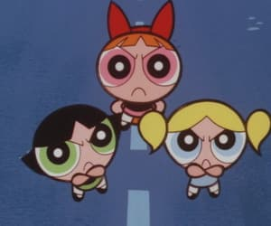 powerpuff girls, cartoon, and the powerpuff girls image