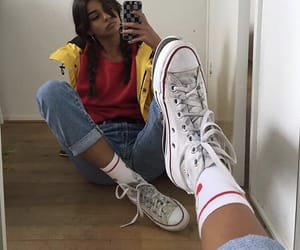 converse, aesthetic, and girl image