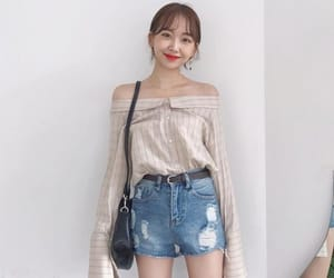 aesthetic, ulzzang fashion, and cute image