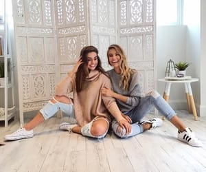 friends, friendship, and outfit image