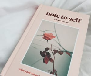 book, rose, and aesthetic image