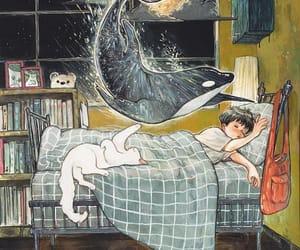 art, cat, and Dream image