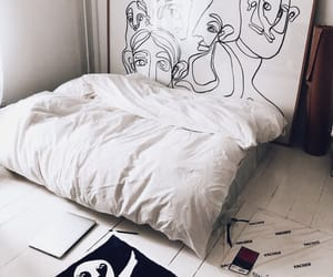 home, art, and room image