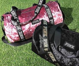 bag, pink, and velvet image