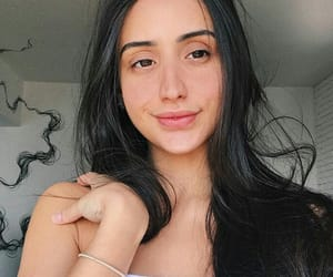 brunette, youtube, and youtuber image