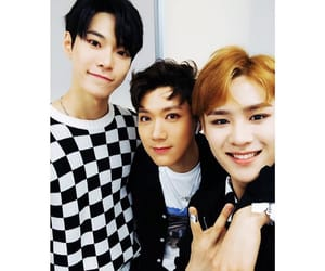 black on black, doyoung, and nct u image