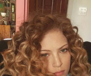 curls, curly hair, and garotas image
