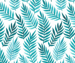 pattern and leaves image