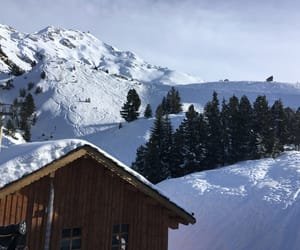 aesthetic, chalet, and white image