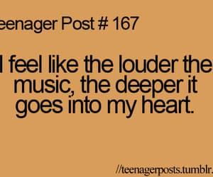 quotes, teenager post, and music image