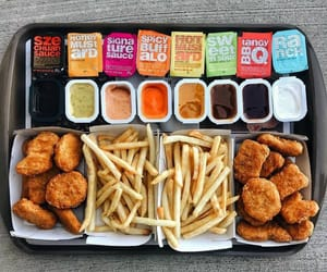 Chicken, McDonald's, and chicken nuggets image
