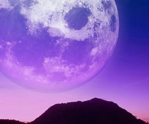 moon and purple image