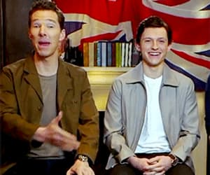 actor, funny face, and benedict cumberbatch image