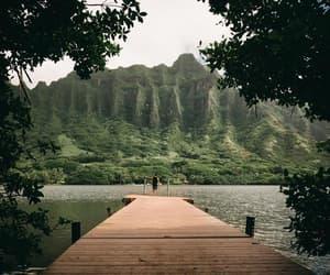 lake, landscape, and wanderer image