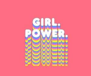 girl power, girl, and feminism image